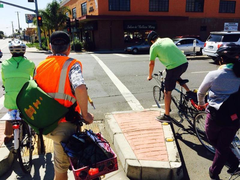 Bike and walk audit Franklin Blvd.