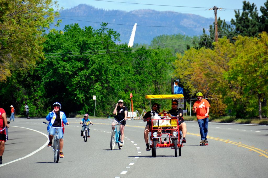 Family Bicycling Day - Redding