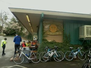 Sunflower Natural Foods Drive-in bikes