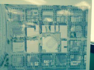 Preliminary design for the arena complex
