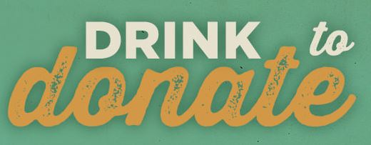 Drink to Donate logo