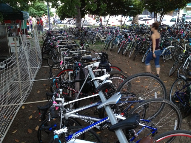 Bike Valet - Concerts in the Park 2013