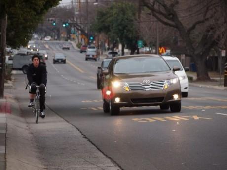 Freeport bike lane