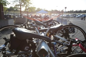 Bike Valet at Bonney Field