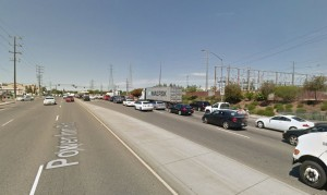 Heavy, fast traffic makes Power Inn Road challenging for people walking and biking for transportation.