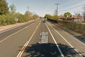 A physically separated bike lane on Routier Road would improve protection for people on bikes.
