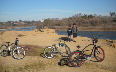 Kids at river